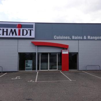 Cuisines Schmidt – Aménagement Commercial – Auray