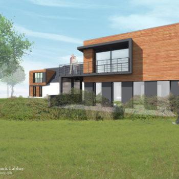 Extension d'une maison individuelle en gîte – Séné