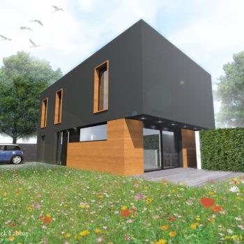 Maison G – Construction d'une maison de ville – VANNES – MORBIHAN