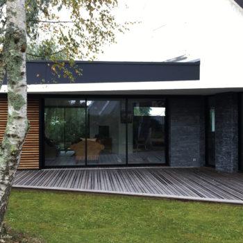 Maison LJ – Extension et rénovation d'une maison néo-bretonne – Séné – Morbihan – Bretagne