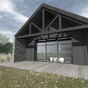 Maison LP+H – Extension et Rénovation d'une longère bretonne – Plescop – Morbihan – Bretagne