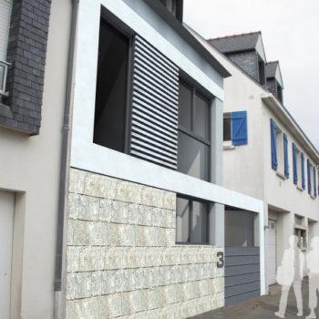 Maison M – Construction d'une maison individuelle – La Trinité-sur-Mer