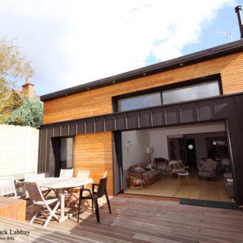 Maison R – Extension et rénovation d'une maison de ville – RENNES