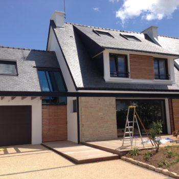 Maison S. – Extension et rénovation d'une maison néo-bretonne – Carnac
