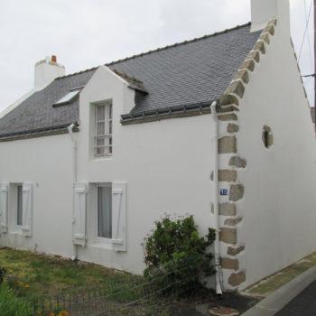 Maison T – Rénovation d'une maison de pêcheur – Portivy – Saint-Pierre-Quiberon – Morbihan – Bretagne