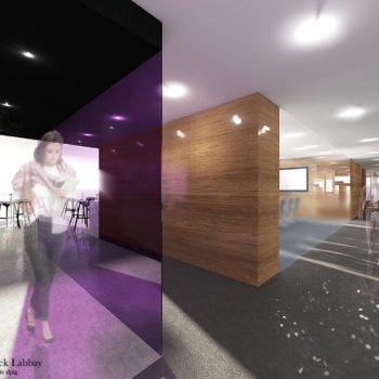 Réaménagement de bureaux + ateliers d'une entreprise industrielle – Morbihan – Bretagne