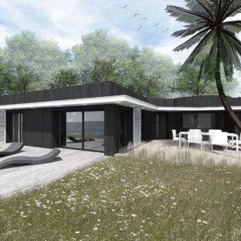 Rénovation d'une villa au bord de l'eau – Plouharnel – Morbihan – Bretagne