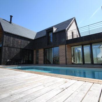 Villa en ossature bois – Saint-Goustan – AURAY – Morbihan – Bretagne Sud