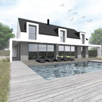 Villa R + M – Saint-Philibert – Morbihan – Bretagne